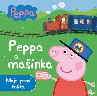 Prasátko Peppa a mašinka - Moje první knížka - neuveden