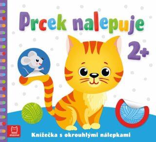 Prcek nalepuje 2+ / Knížečka s okrouhlými nálepkami - Agnieszka Bator, Izdebska Sylwia