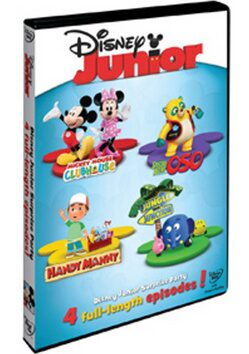 Disney Junior: Příběhy s překvapením DVD - neuveden