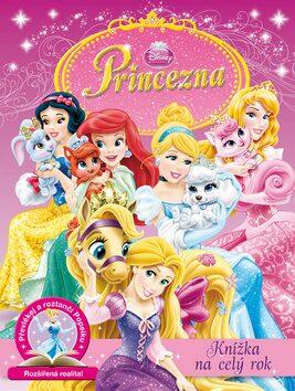 Princezna - Knížka na celý rok - Převlékej a roztanči Popelku - Walt Disney