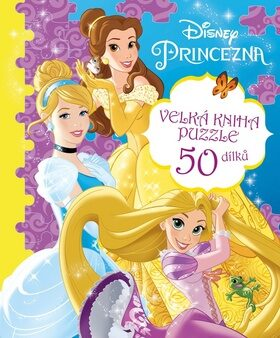 Princezna - Velká kniha puzzle - autorů