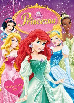 Princezny Knížka na rok 2014 - Walt Disney