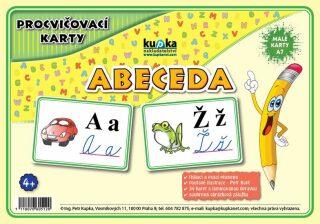 Procvičovací karty Abeceda - Petr Kupka