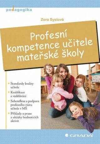 Profesní kompetence učitele mateřské školy - Zora Syslová - e-kniha
