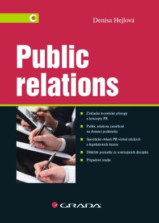Public relations - Denisa Hejlová - e-kniha