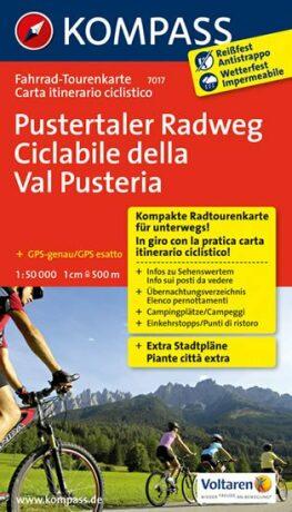 Pustertaler Radweg  7017   NKOM - neuveden