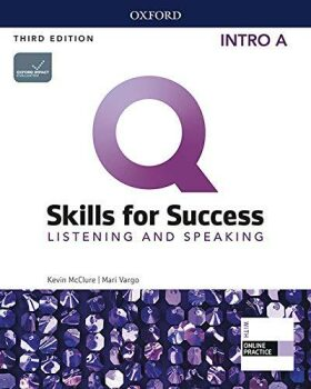 Q Skills for Success Intro Listening & Speaking Student´s Book A with iQ Online Practice, 3rd - Kevin McClure