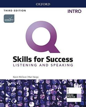 Q Skills for Success Intro Listening & Speaking Student´s Book with iQ Online Practice, 3rd - Kevin McClure
