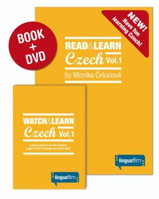 Read + Learn Czech Vol.1 (učebnice+DVD) - Čekalová Monika
