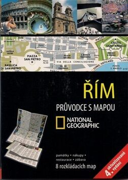 Řím Průvodce s mapou -