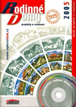 Rodinné domy 2005 + CD -