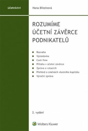 Rozumíme účetní závěrce podnikatelů - Hana Březinová