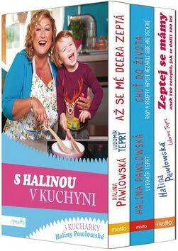 S Halinou v kuchyni - dárkový box (komplet) - Halina Pawlowská, Lubomír Teprt