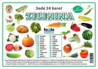 Sada 24 karet Zelenina - Petr Kupka