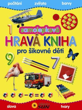 Samolepková hravá kniha pro šikovné děti - neuveden