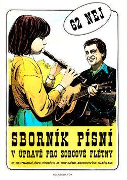 Sborník písní v úpravě pro zobcové flétny 1.díl -