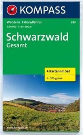 Schwarzwald Gesamt  (4 set)  888  NKOM - neuveden