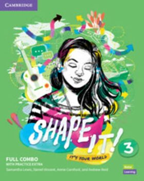 Shape It! 3 Full Combo Student´s Book and Workbook with Practice Extra - Samantha Lewis, Vincent Daniel