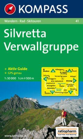 Silvretta Verwallgruppe 41 / 1:50T KOM - neuveden