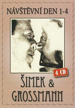 Šimek & Grossmann - Návštěvní den (1- 4) - 4CD - Miloslav Šimek, Jiří Grossmann
