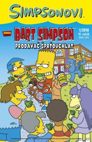 Bart Simpson 1/2018: Prodavač šprťouchlat - Matt Groening