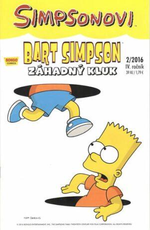 Bart Simpson Záhadný kluk - Matt Groening