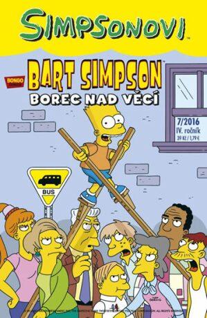 Simpsonovi - Bart Simpson 7/2016 - Borec nad věcí - Matt Groening
