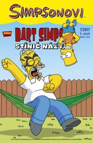Bart Simpson 7/2017 Stínič názvu - Matt Groening