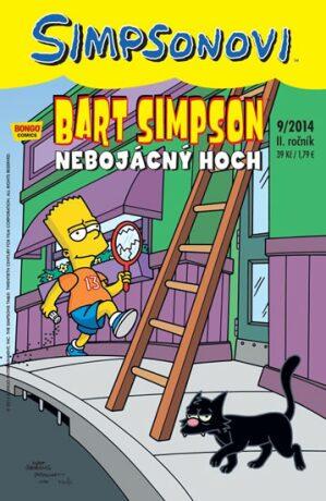 Simpsonovi - Bart Simpson 9/2014 - Nebojácný hoch - Matt Groening
