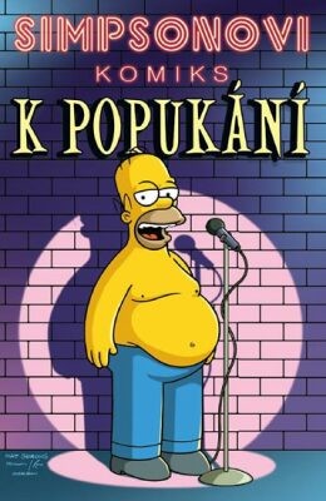 Simpsonovi Komiks k popukání - Matt Groening