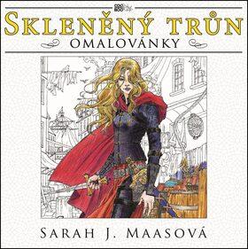 Skleněný trůn - omalovánky - Sarah J. Maasová
