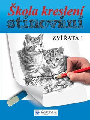 Škola kreslení – stínování – zvířata 1 - neuveden