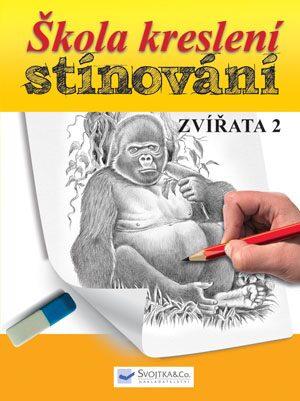 Škola kreslení – stínování – zvířata 2 - neuveden