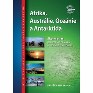 Afrika, Austrálie, Oceánie, Antarktida - Školní atlas - neuveden