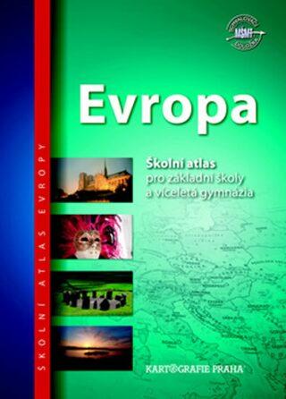 Evropa školní atlas - neuveden