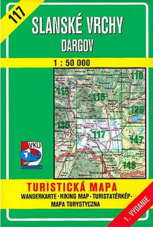 Slanské vrchy Dargov 1:50 000 - neuveden
