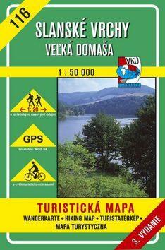 Slanské vrchy Veľká Domaša 1 : 50 000 -