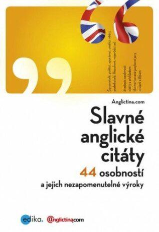 Slavné anglické citáty - Anglictina.com - e-kniha