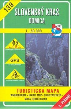 Slovenský kras Domica 1:50 000 -