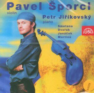 Smetana, Dvořák, Janáček, Martinů, Ševčík: Houslový recitál - CD - Pavel Šporcl