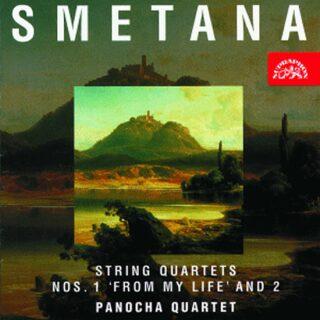 Smyčcové kvartety č. 1 a 2 - CD - Bedřich Smetana