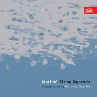 Smyčcové kvartety - komplet - 3CD - Bohuslav Martinů