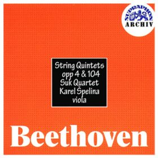 Smyčcové kvintety, op. 4 , 104 - CD - Ludwig van Beethoven