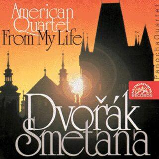 Smyčcový kvartet č. 1 - Smyčc. kvartet Americký - CD - Bedřich Smetana, Antonín Dvořák