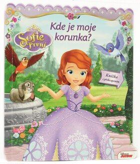 Sofie První - Kde je moje korunka? Knížka s překvapením - Walt Disney