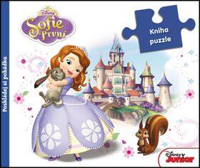 Sofie První - Kniha puzzle - Poskládej si pohádku - Walt Disney