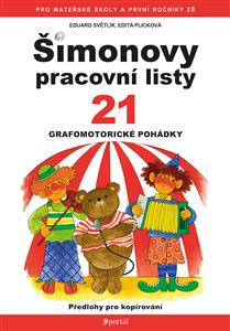 ŠPL 21 - Grafomotorické pohádky - Edita Plicková, Eduard Světlík