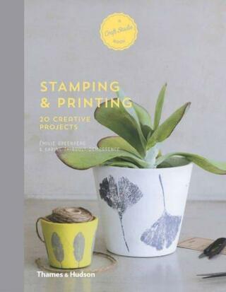 Stamping & Printing: 20 Creative Projects (A Craft Studio Book) - Émilie Greenberg, Karine Thiboult-Demessence