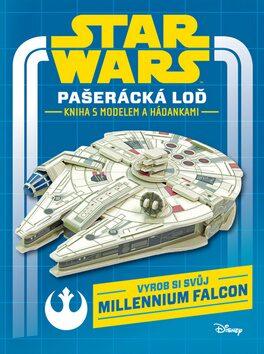 STAR WARS Pašerácká loď Kniha s modelem a hádankami - Walt Disney