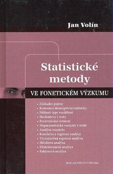 Statistické metody ve fonetickém výzkumu - Jan Volín